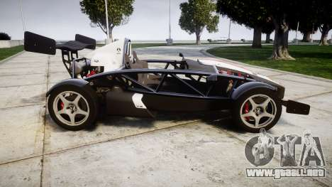 Ariel Atom V8 2010 [RIV] v1.1 FUEA Equipped para GTA 4 left