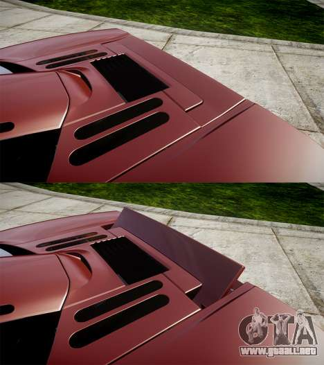 Mclaren F1 1993 [EPM] para GTA 4 vista superior