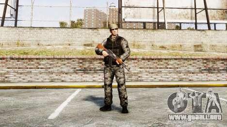 Medal of Honor LTD Camo2 para GTA 4