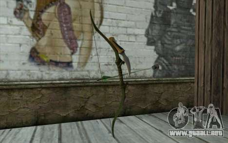Green Arrow Bow v2 para GTA San Andreas segunda pantalla