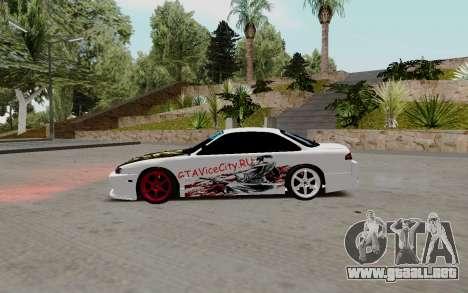 Nissan Silvia S14 VCDT para GTA San Andreas left