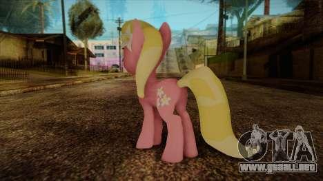 Lily from My Little Pony para GTA San Andreas segunda pantalla