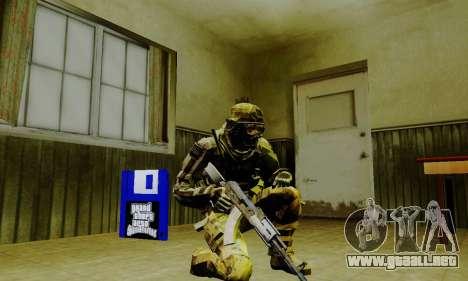 Weapon pack from CODMW2 para GTA San Andreas décimo de pantalla