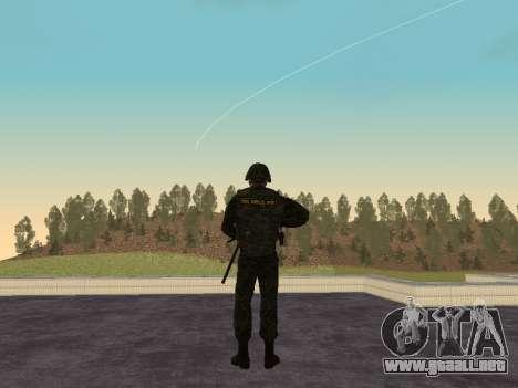 Los soldados de la MIA de la Federación de rusia para GTA San Andreas segunda pantalla