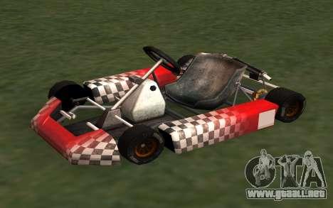 Actualizado Kart para GTA San Andreas para GTA San Andreas