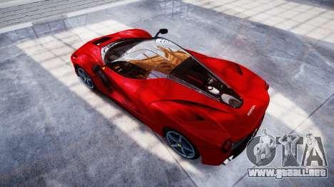 Ferrari LaFerrari para GTA 4 visión correcta