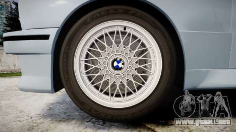 BMW M3 E30 1991 [EPM] para GTA 4 vista hacia atrás
