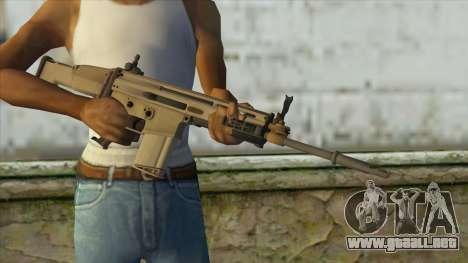 AK12 from Battlefield 4 para GTA San Andreas tercera pantalla