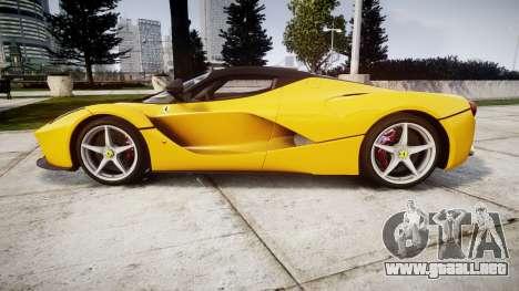 Ferrari LaFerrari [EPM] v1.2 para GTA 4 left