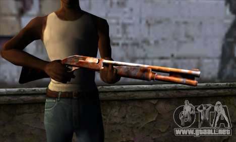Chromegun v2 Rusty para GTA San Andreas tercera pantalla