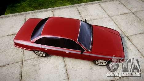 Vapid Stanier Rims Minivan para GTA 4 visión correcta