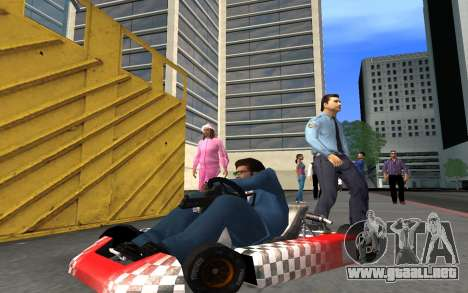Actualizado Kart para GTA San Andreas para GTA San Andreas vista hacia atrás