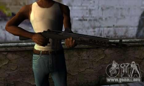 Rifle from State of Decay para GTA San Andreas tercera pantalla