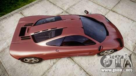 Mclaren F1 1993 [EPM] para GTA 4 visión correcta
