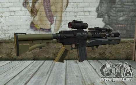 M4 MGS Aimpoint v3 para GTA San Andreas segunda pantalla