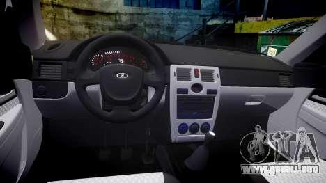 VAZ-2170 Priora llantas de aleación para GTA 4 vista interior