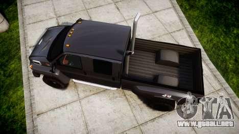 GMC C4500 TopKick 2007 Ironhide para GTA 4 visión correcta