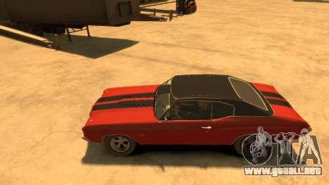 Chevrolet Chevelle SS 1972 para GTA 4 left