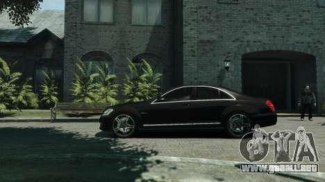 Mercedes-Benz W221 S63 AMG para GTA 4 left