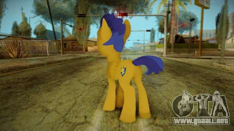 Flash Sentry from My Little Pony para GTA San Andreas segunda pantalla