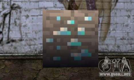 Bloque (Minecraft) v1 para GTA San Andreas