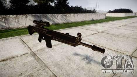 Rifle de G3SG1 para GTA 4