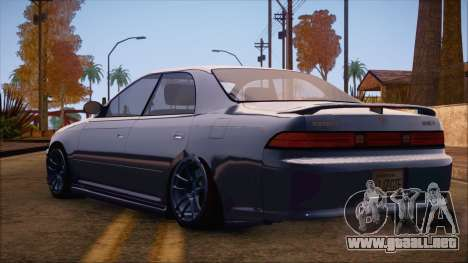 Toyota Mark 2 para GTA San Andreas left