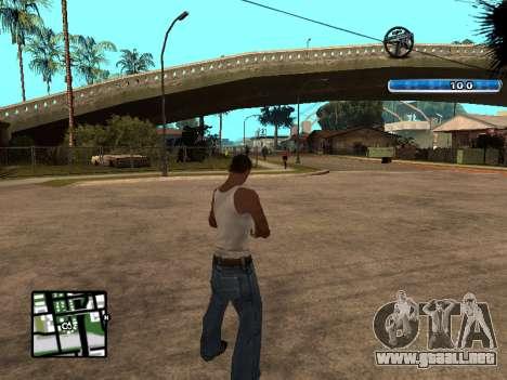 C-HUD by SampHack v.17 para GTA San Andreas segunda pantalla