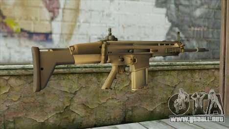 AK12 from Battlefield 4 para GTA San Andreas segunda pantalla