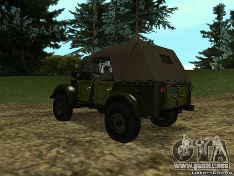 GAZ-69 para GTA San Andreas left