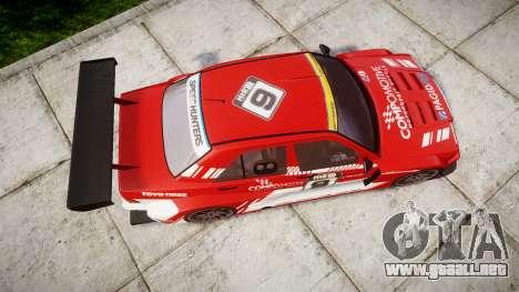 Mercedes-Benz 190E Evo II GT3 PJ 3 para GTA 4 visión correcta