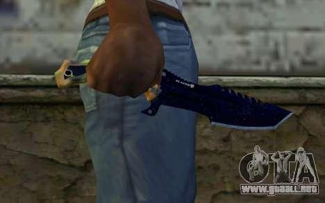 Knife from COD: Ghosts v1 para GTA San Andreas tercera pantalla