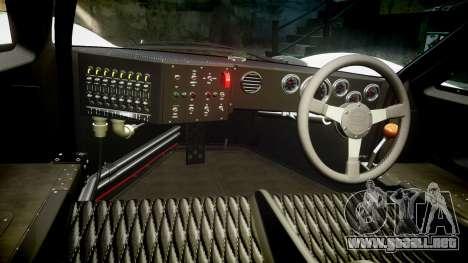 Ford GT40 Mark IV 1967 PJ 1 para GTA 4 vista hacia atrás
