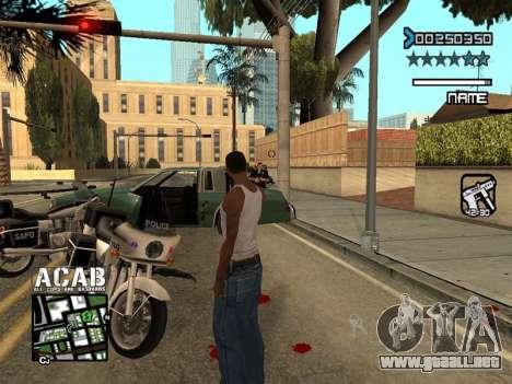 C-HUD by Edya para GTA San Andreas sucesivamente de pantalla