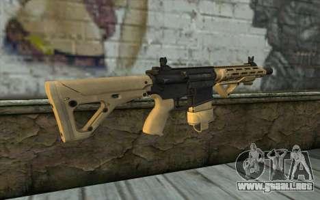 AR-25c para GTA San Andreas segunda pantalla