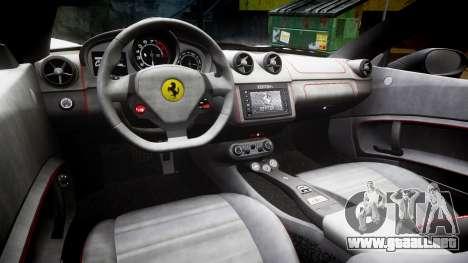 Ferrari California [EPM] v1.5 para GTA 4 vista interior