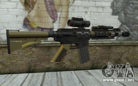 M4 MGS Aimpoint v2 para GTA San Andreas segunda pantalla