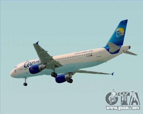 Airbus A320-200 Condor para la visión correcta GTA San Andreas
