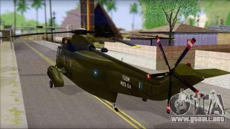 Helicopter Nuri Malaysia Mod (Seaking) para GTA San Andreas left