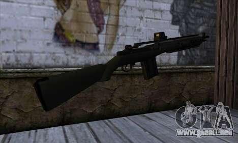 Rifle from State of Decay para GTA San Andreas segunda pantalla