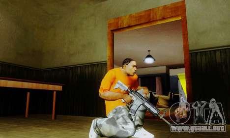 Weapon pack from CODMW2 para GTA San Andreas sucesivamente de pantalla