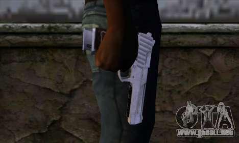 Pistol 50 from GTA 5 para GTA San Andreas tercera pantalla
