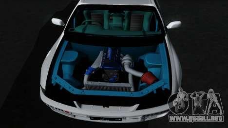 Nissan Skyline GT-R33 para vista inferior GTA San Andreas