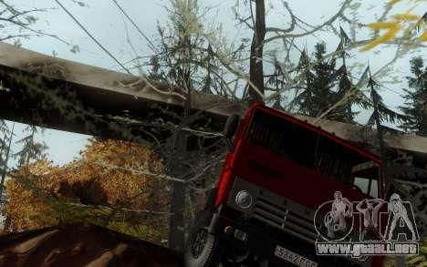 Pista de off-road 3.0 para GTA San Andreas sucesivamente de pantalla