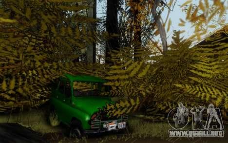 Pista de off-road 3.0 para GTA San Andreas octavo de pantalla