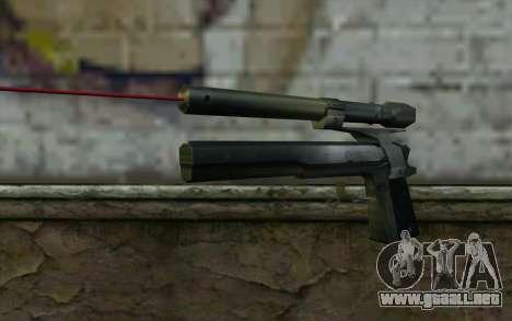 AMT Hardballer Longslide con mira Láser para GTA San Andreas