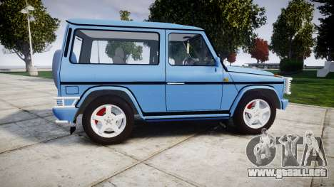 Mercedes-Benz G500 Short 1999 para GTA 4 left