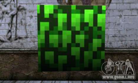 Bloque (Minecraft) v12 para GTA San Andreas