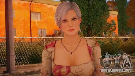 Modern Woman Skin 1 para GTA San Andreas tercera pantalla