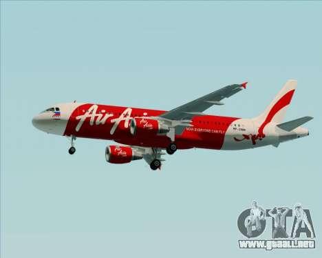 Airbus A320-200 Air Asia Philippines para GTA San Andreas